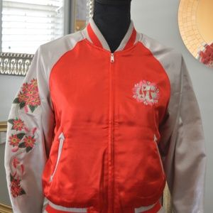 reversable embroidered jacket